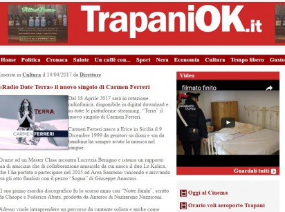CARMEN ferreri news a TrapaniOk Quotidiano